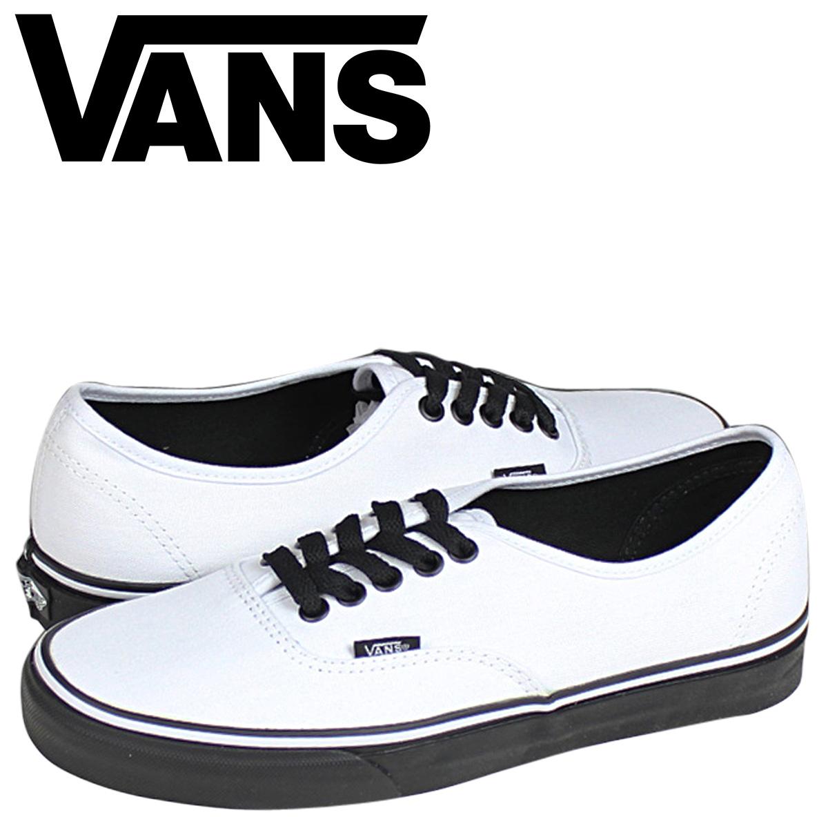 Vans VANS authentic sneakers AUTHENTIC BLACK SOLE VN 0YS7EOS men gap Dis shoes white