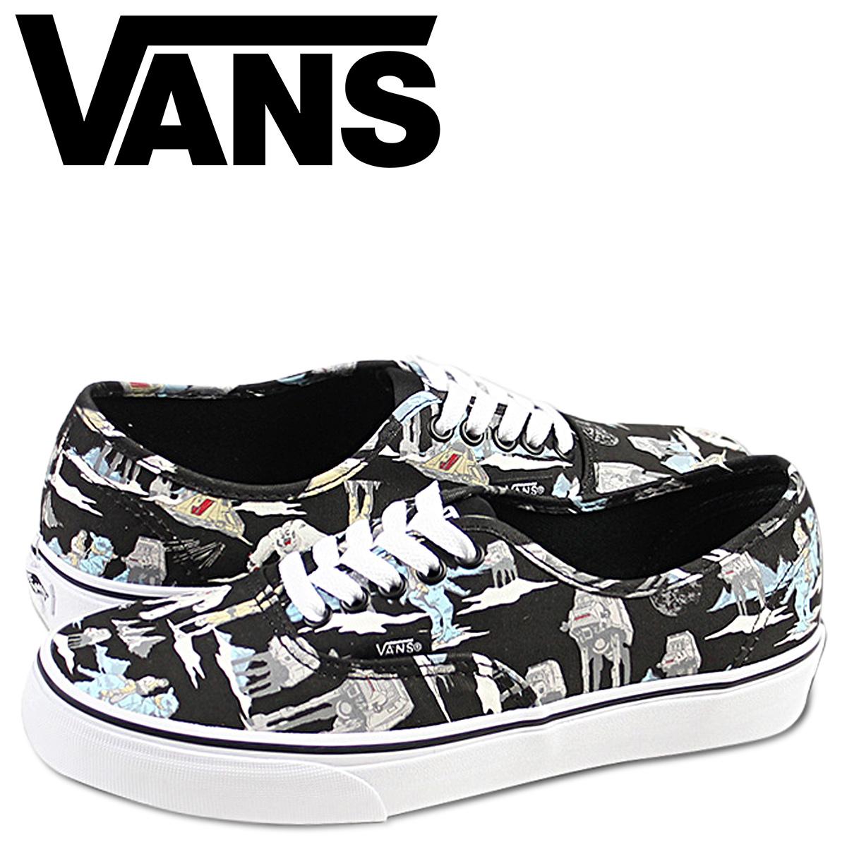8af9a677ed Vans VANS STARWARS AUTHENTIC DARK SIDE sneakers authentic dark side canvas Star  Wars VN-0YS7EXA dark side men gap Dis