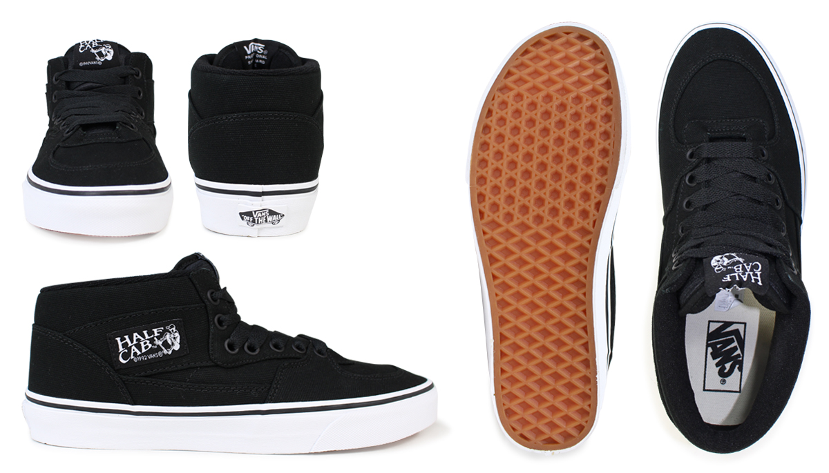 8060583e67cd VANS sneakers mens Womens high cut half cab vans vans HALF CAB VN-0wy1w1 shoes  black  11   26 new in stock