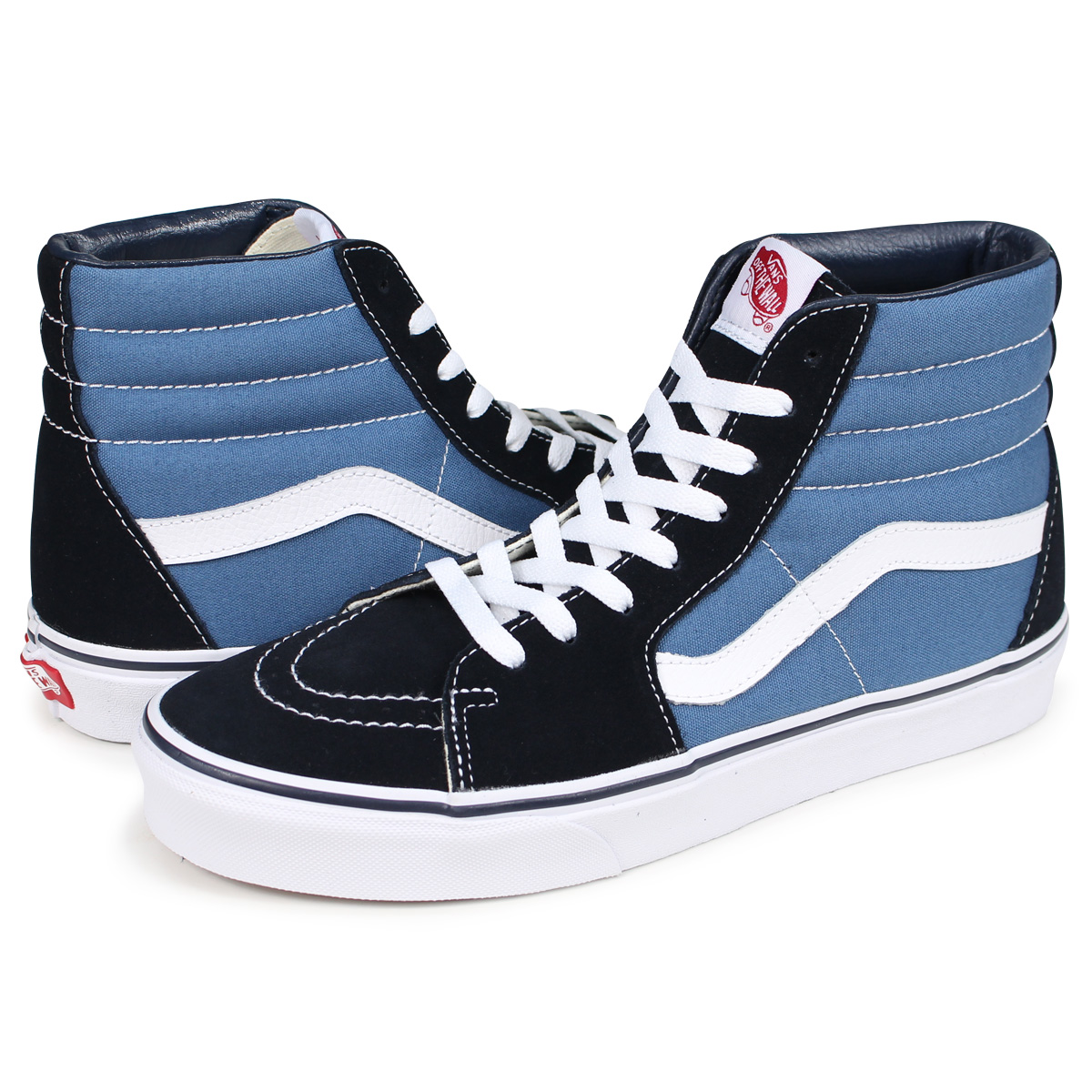 7c4008d494 VANS SK8-HI VN000D5INVY skating high sneakers men gap Dis vans station  wagons navy  load planned Shinnyu load in reservation product 9 5  containing