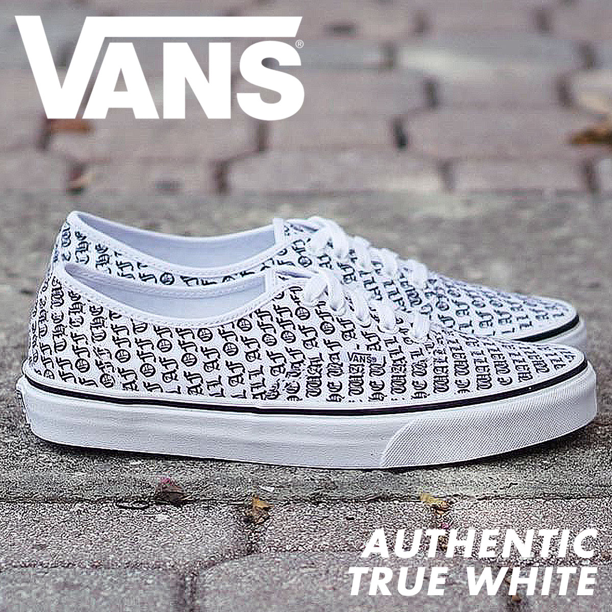 334e0408350 VANS authentic sneakers men vans station wagons AUTHENTIC OTW-AF  VN0A38EMOQO shoes white  9 12 Shinnyu load