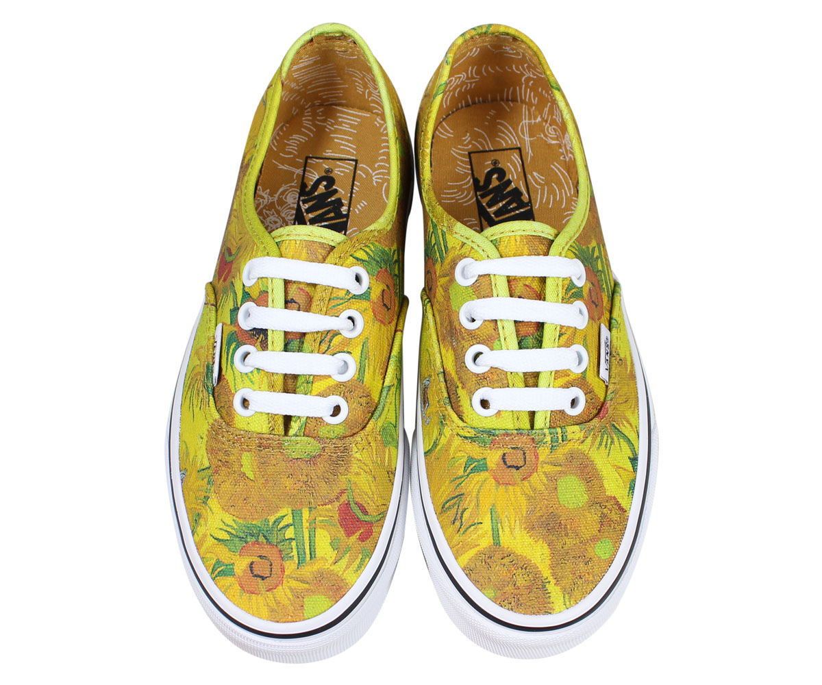 VANS AUTHENTIC vans authentic sneakers Lady's station wagons Gogh yellow VN0A38EMU3W