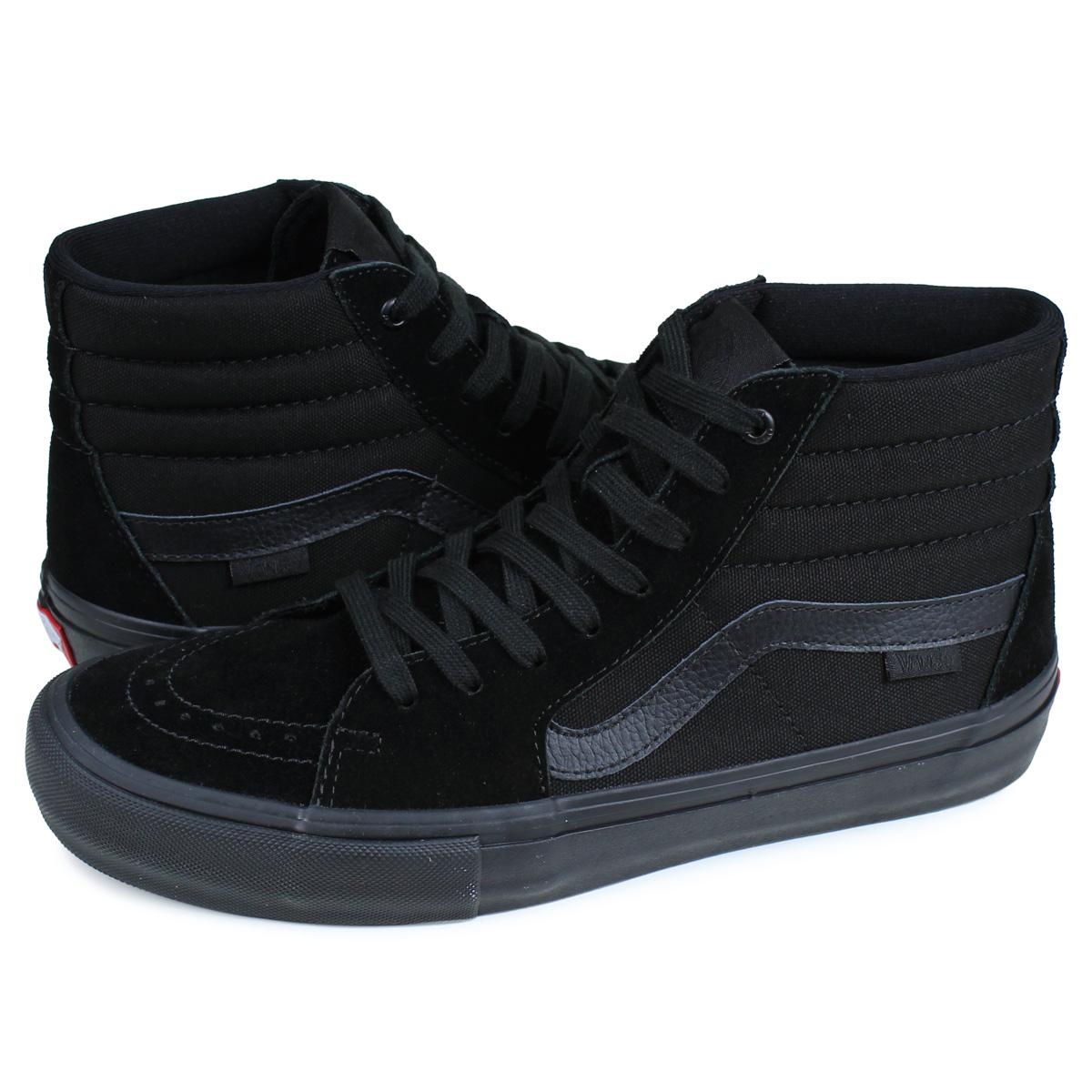 VANS SK8-HI PRO バンズ スニーカー メンズ ヴァンズ スケートハイ ブラック 黒 VN000VHG1OJ [8/27 追加入荷]