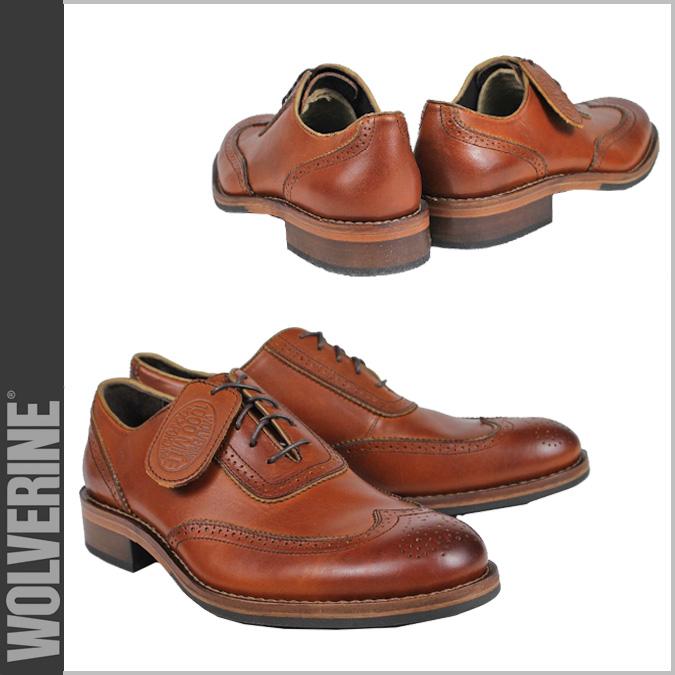 [SOLD OUT]uruvarin WOLVERINE 1000英裏牛津鞋WICKHAM 1000MILE BROGUE OXFORD D懷斯W06482舌頭翅膀小費人