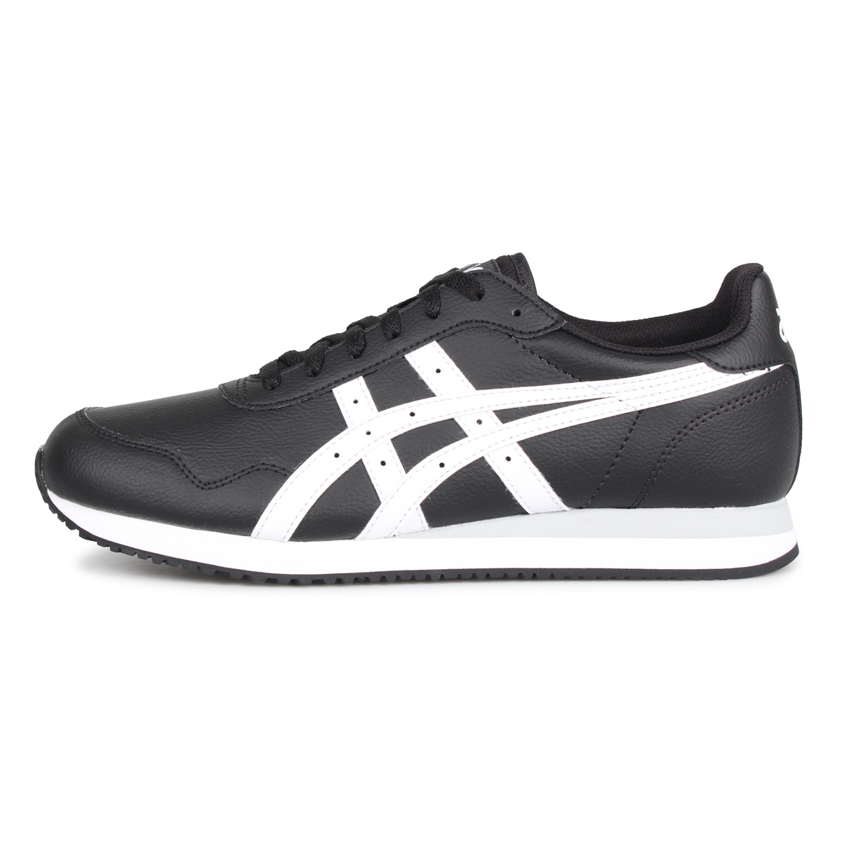 asics Tiger TIGER RUNNER ASICS tiger tiger runner sneakers men black black 1191A301 001 [1224 Shinnyu load]