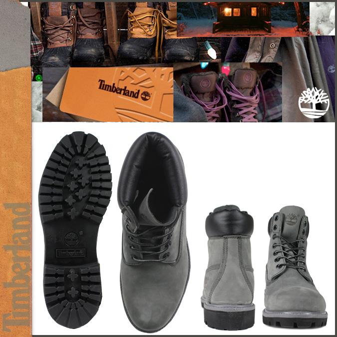 Timberland Menns Støvler 6 Tommers Premium 71596 Grå DqH56MiFx2