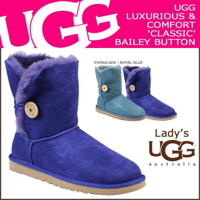 ugg blue bailey button