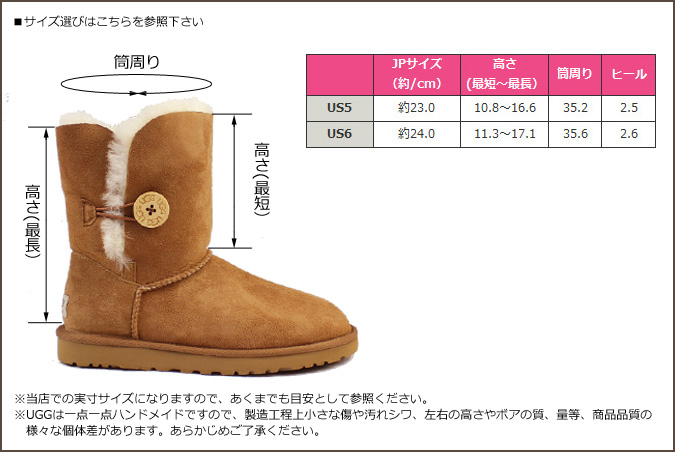 56374bbb139 UGG UGG kids Bailey button boots KIDS BAILEY BUTTON 5991 5991YK Sheepskin  ladies