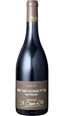 ■【お取寄せ】ドメーヌ アルノー ショパン ニュイ サン ジョルジュ 1er レ ミュルジェ[2017] [ ワイン 赤ワイン フランス ブルゴーニュワイン ]