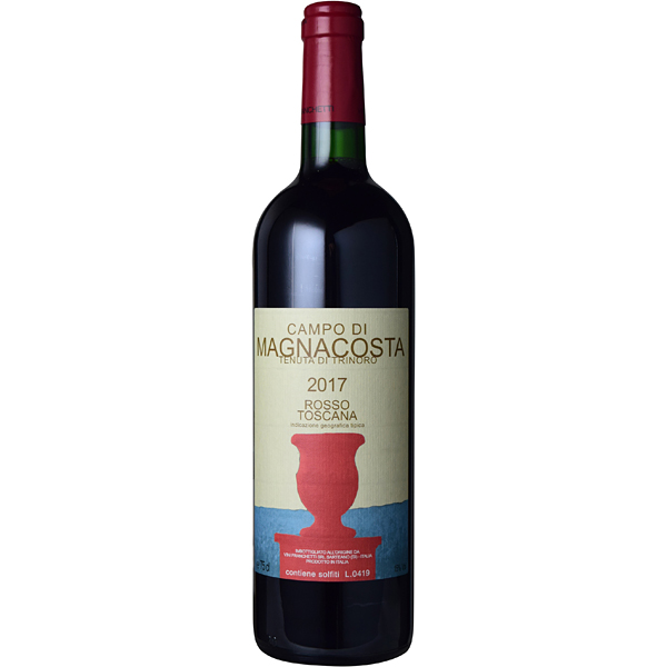 ■【お取寄せ】 トリノーロ カンポ ディ マニャコスタ[2017] [ ワイン 赤ワイン イタリアワイン トスカーナ ]