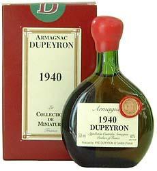 デュペイロン ヴィンテージ アルマニャック[1943] 【ミニチュアボトル:50ml】