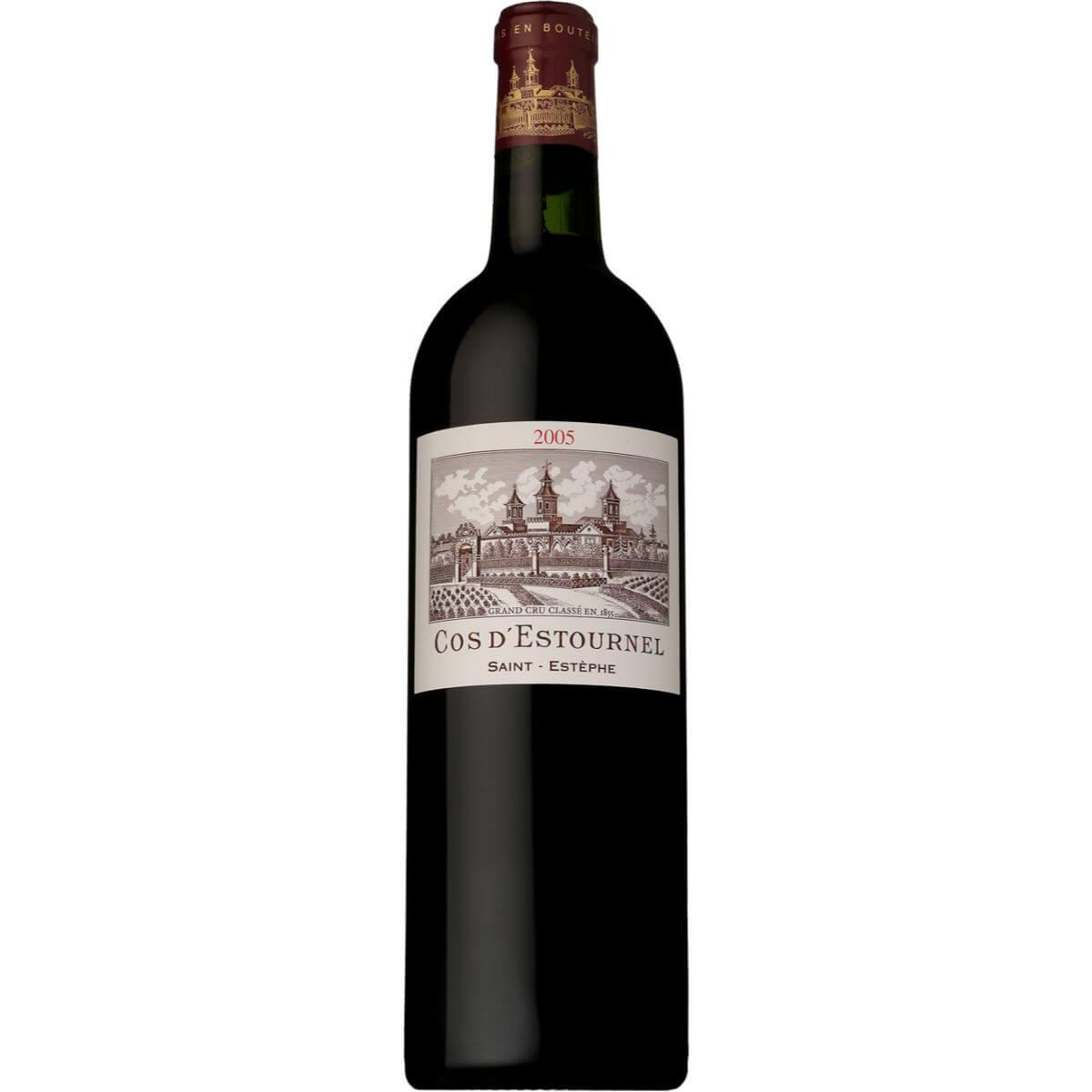 ■【お取寄せ】 シャトー コス デストゥールネル[2005] [ ワイン 赤ワイン フランスワイン ボルドーワイン ]