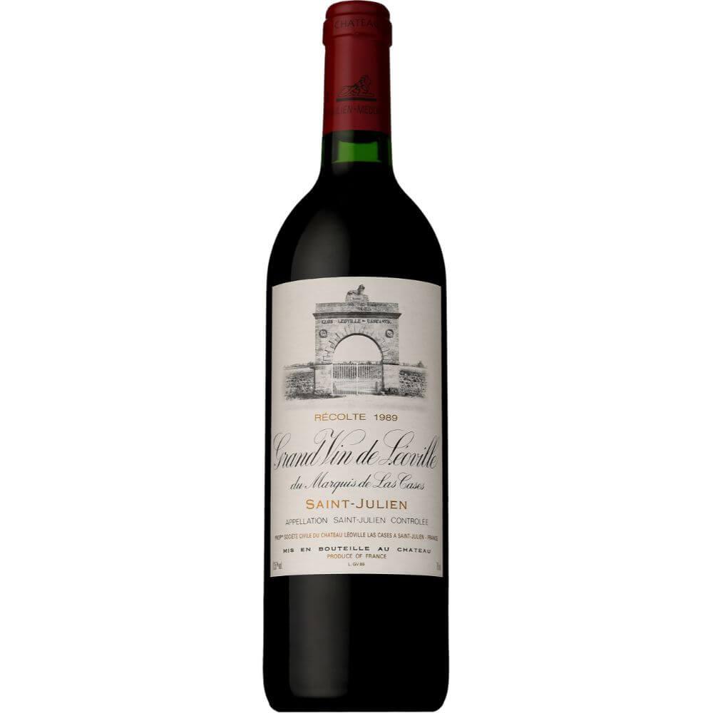 ■【お取寄せ】 シャトー レオヴィル ラス カーズ[1989] [ ワイン 赤ワイン フランスワイン ボルドーワイン ]
