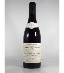 ■【お取寄せ】ロベール シュヴィヨン ニュイ サン ジョルジュ プルミエ クリュ レ ブスロ[2015] [ ワイン 赤ワイン フランスワイン ブルゴーニュワイン ]