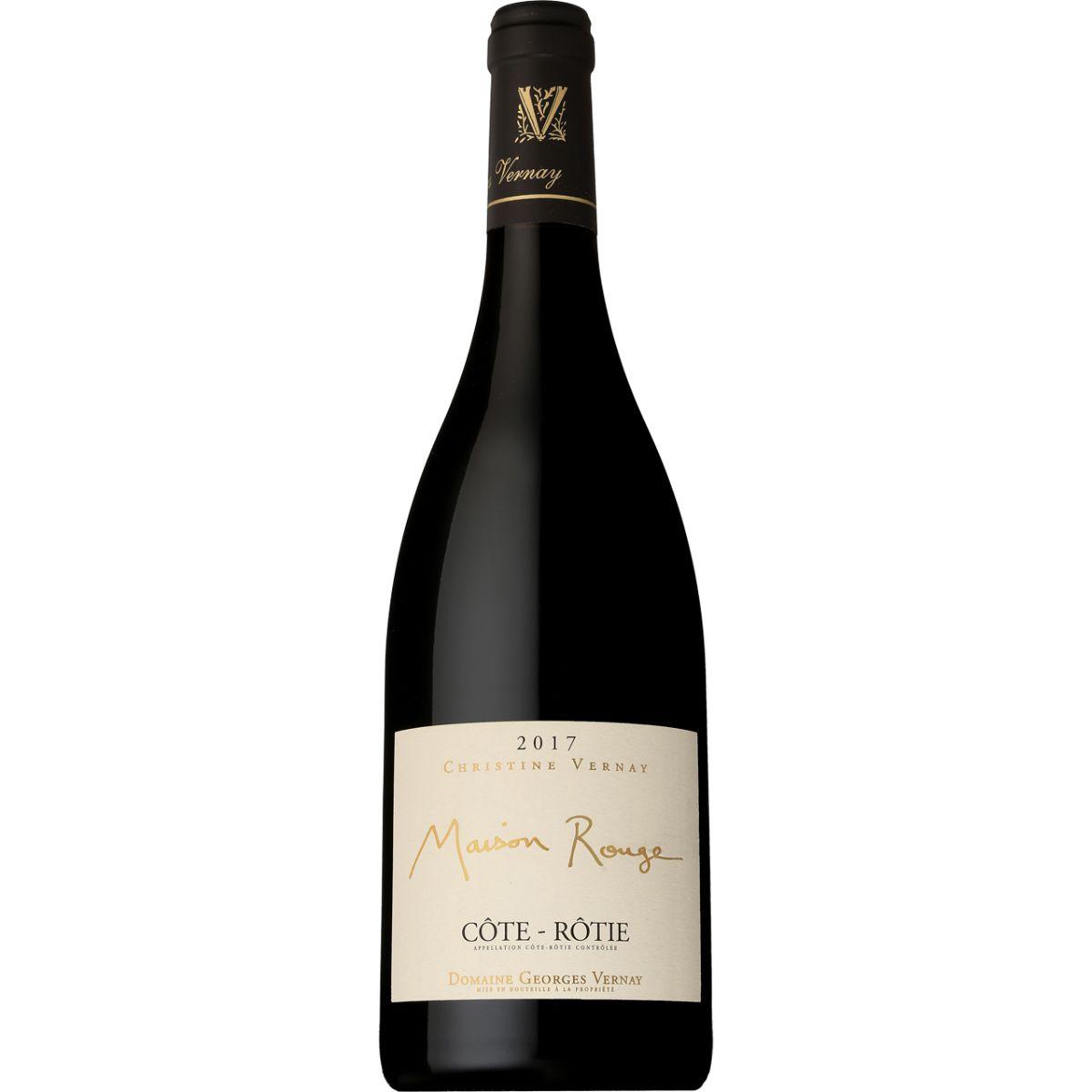 ■【お取寄せ】 ドメーヌ ジョルジュ ヴェルネ コート ロティ メゾン ルージュ[2017] [ ワイン 赤ワイン フランスワイン コートデュローヌワイン ]