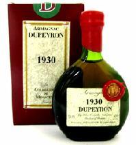 デュペイロン ヴィンテージ アルマニャック[1928]【ミニチュアボトル:50ml】