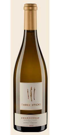 スリー スティックス シャルドネ デュレル ヴィンヤード[2015] Three Sticks Chardonnay Durell Vineyard[2015]