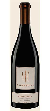 スリー スティックス ピノノワール プライス ファミリー ヴィンヤード[2015] Three Sticks Pinot Noir PFV Estate[2015]