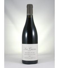 ■【お取寄せ】ド モンティーユ ボーヌ プルミエ クリュ レ グレーヴ[2011] [ ワイン 赤ワイン フランスワイン ブルゴーニュワイン ]