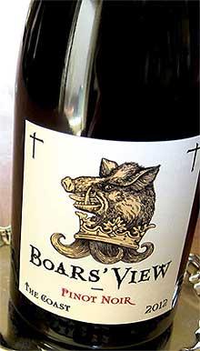 ボアズ ヴュー ピノノワール ザ コースト[2013] シュレーダー Boar's View Pinot Noir The Coast[2013]