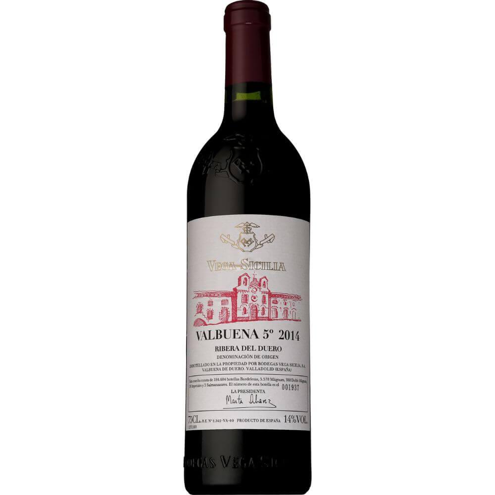 ■【お取寄せ】ボデガス ベガ シシリア バルブエナ5[2014] [ ワイン 赤ワイン スペインワイン カスティーリャイレオン ]
