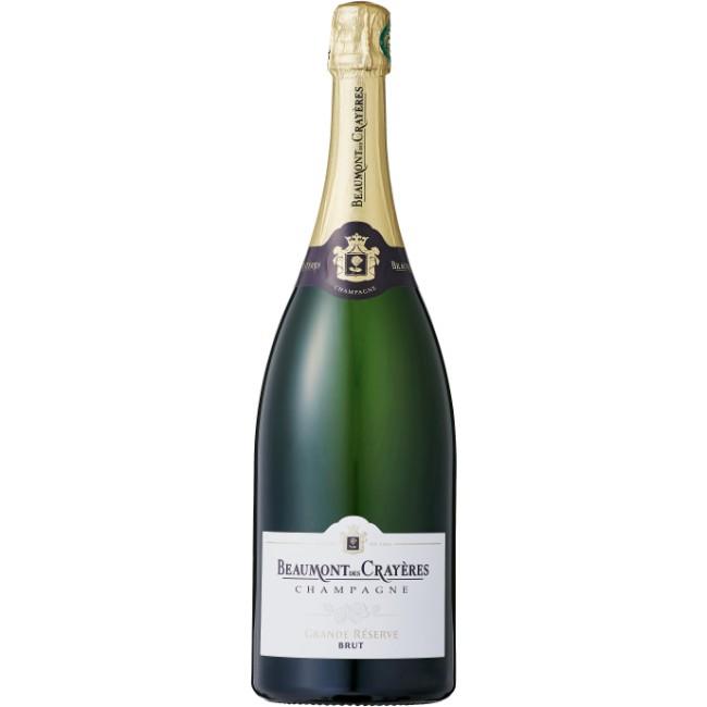 ■【お取寄せ】シャンパーニュ ボーモン デ クレイエール グランド レゼルヴ ブリュット マグナム[NV] 1500ml [ ワイン スパークリングワイン フランス シャンパン ]