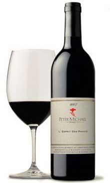 ピーター マイケル レスプリ デ パヴォ[2013] [ カリフォルニアワイン ソノマ 赤ワイン ワイン ]