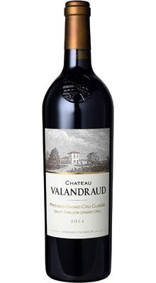 ■【お取寄せ】CH.ヴァランドロー[2014] [ ワイン 赤ワイン フランス ボルドーワイン ]