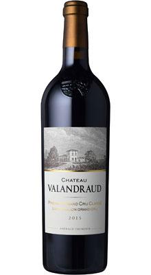 ■【お取寄せ】CH.ヴァランドロー[2015] [ ワイン 赤ワイン フランス ボルドーワイン ]