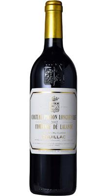 ■【お取寄せ】CH.ピション ロングヴィル コンテス ド ラランド[2012] [ ワイン 赤ワイン フランス ボルドーワイン ]