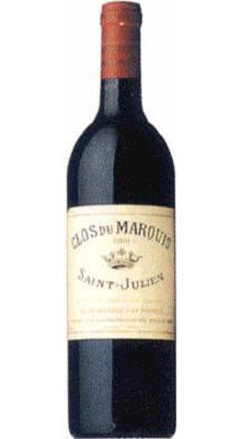 ■【お取寄せ】クロ デュ マルキ[1998] [ ワイン 赤ワイン フランス ボルドーワイン ]