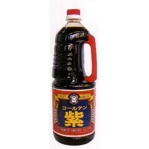 本醸造醤油として求められる品質と味わいを追求した商品フンドーキンの代表的なこいくち醤油 ゴールデン紫 1.8L こいくち醤油 濃口醤油 営業 濃口しょうゆ フンドーキン醤油 激安 激安特価 送料無料