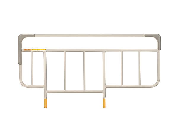 介護・医療・ベッドサイドレール KS-161G 2本1組セット ホワイトアイボリー・パラマウントベッド