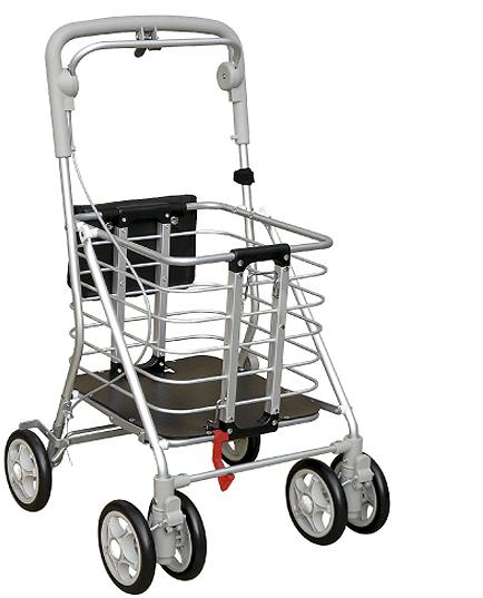 【アルミワゴンM】 シルバーカー・歩行器  ご家庭にも!医療現場・介護現場にも!