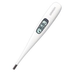 オムロン電子体温計「けんおんくん」【MC-1600W-HP】・お買い得!!6本セット体温計・測定機器・医療・介護・施設・医家向け・在宅・自宅・予測・実測・わき専用体温計・検温20秒・