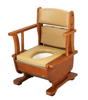 【さわやかチェア泉2 肘掛け自在タイプ 】品番:8252・ポータブルトイレ・排泄関連商品・介護・医療・在宅・ご家庭・施設・