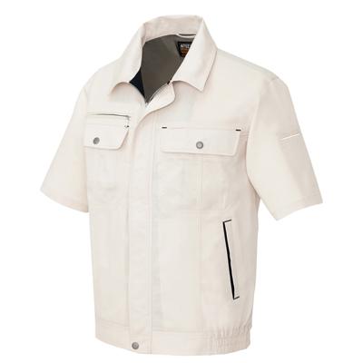 10点選び割引 春夏用作業服 作業着 半袖ブルゾン AZ 55616Lエコサマー 裏綿 B タイプ アイトスAITOgY76fby
