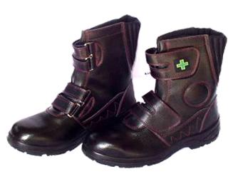 10点選び割引 安全靴 作業靴 喜多MK-7870 メガセーフティー ハイカット 安全ウレタンワークブーツ 黒 24~27センチ 喜多 お取寄せ