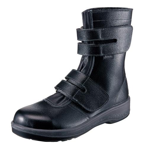 10点選び割引 安全靴 作業靴 7538 黒 キングサイズ(29.0・30.0cm(EEE)) 7500シリーズ 長編上靴 セフティシューズ シモン(Simon) お取寄せ 【返品交換不可】