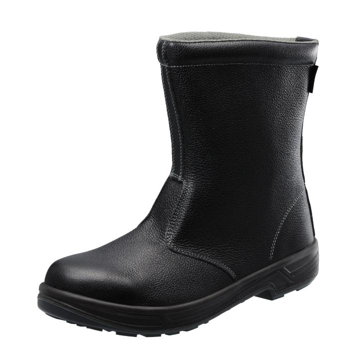 10点選び割引 安全靴 作業靴 SS44 黒(23.5~29.0cm(EEE)) シモンスターシリーズ SX3層底 半長靴 セフティシューズ シモン(Simon) お取寄せ 【返品交換不可】