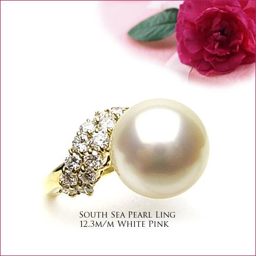 本店は K18イエローゴールド南洋真珠ダイヤモンドリング  【tokai1106sale】, エバンス 6c27d247