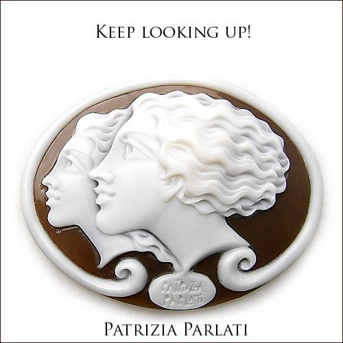 パトリシア パラーティー(Patrizia Parlati) シェルカメオルース 上を向いて歩こう!? 0922PUP10