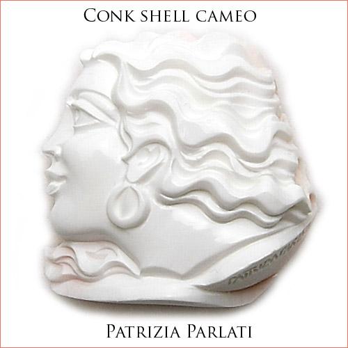 パトリシア パラーティー(Patrizia Parlati) コンクシェルカメオルース パラーティーのユニークさ!?