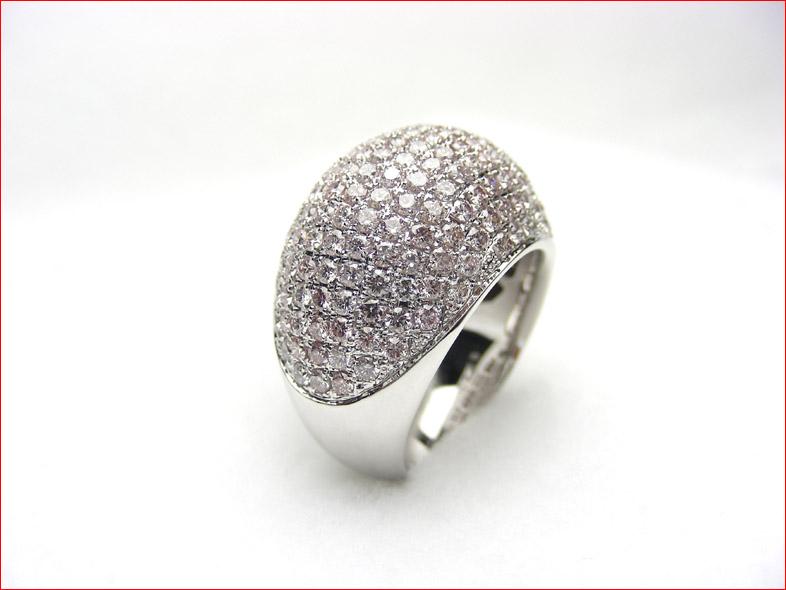 オーストラリア アーガイル ピンク まねのできないホワイトゴールド ダイヤモンドリング 10P20Feb09