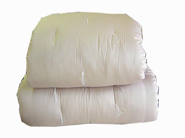 世界初!エジプト綿100%入りの手づくり木綿布団<掛けシングル>