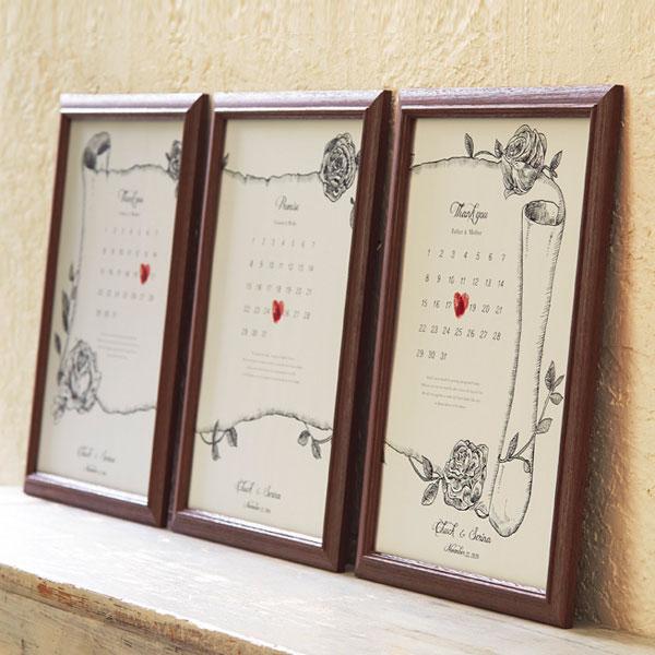 【送料無料】 両親へのプレゼント 結婚式 指紋アート 両親 贈呈品 プレゼント サンクスボード カラースタンプ付き 両親贈呈 両親贈呈品 結婚記念日 おしゃれ かわいい 演出