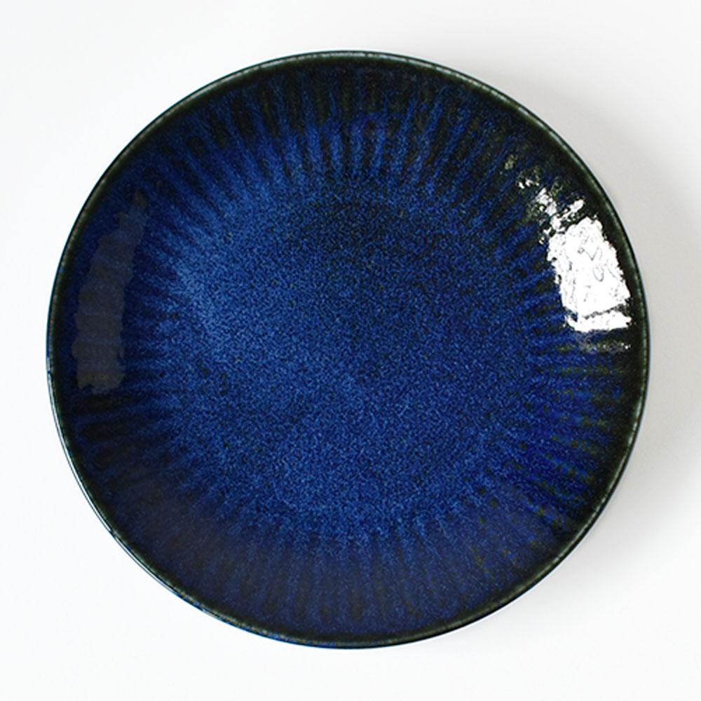 人気の製品 青釉 7寸皿 日本限定