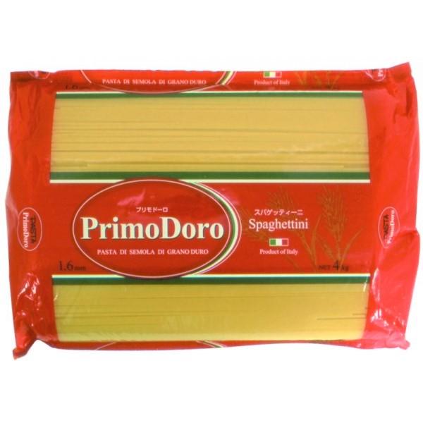 厳選した高品質のデュラム小麦を使用し オンライン限定商品 プロの厳しい要求にお応えできる業務用パスタ 正栄食品 プリモドーロ 通販 スパゲッティーニ 1.6mm 3kg