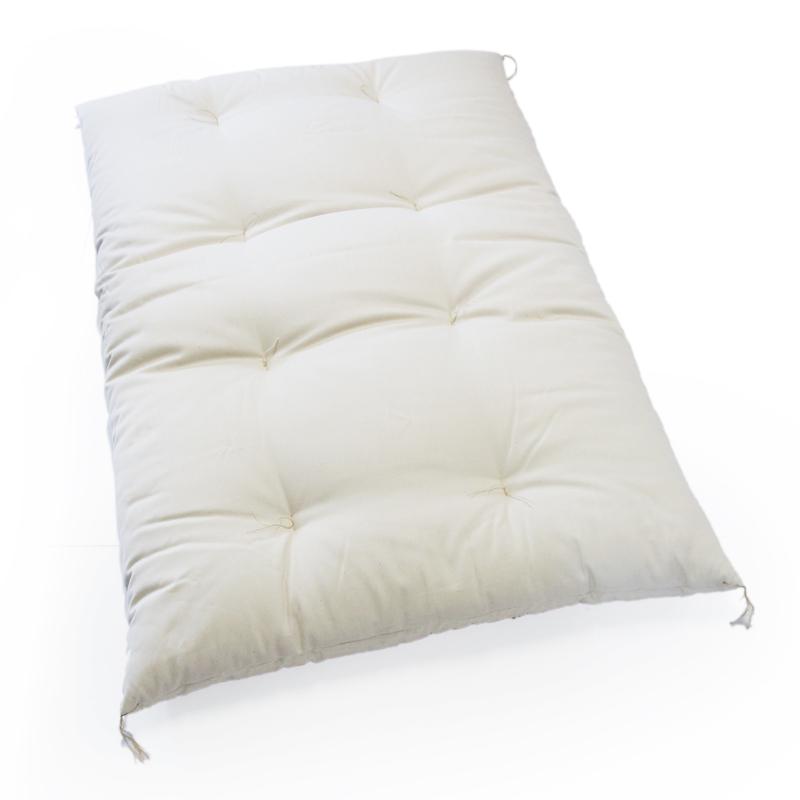 綿100% お昼寝敷布団 綿ブロード生成り生地
