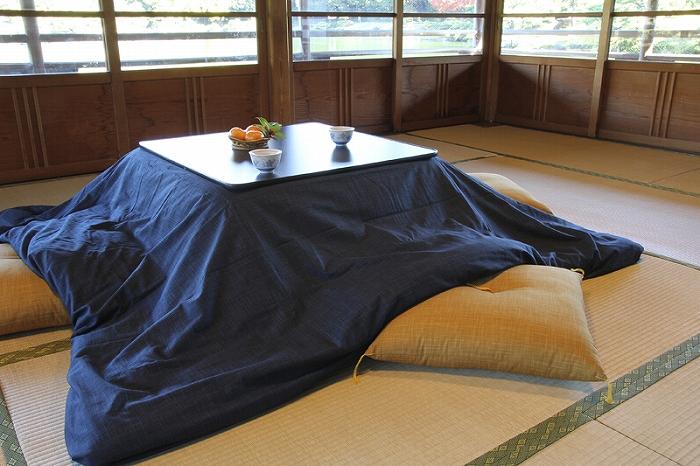 Kotatsu こたつ布団カバー 長方形(大)用 205cm×315cm なごみ こい藍